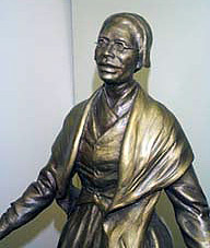 Bronze statue by Thomas Jay Warren