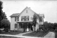 Sojourner Truth's house in 1899
