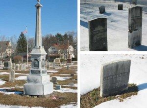 Critchlow, Basil Dorsey, Charles Dorsey markers