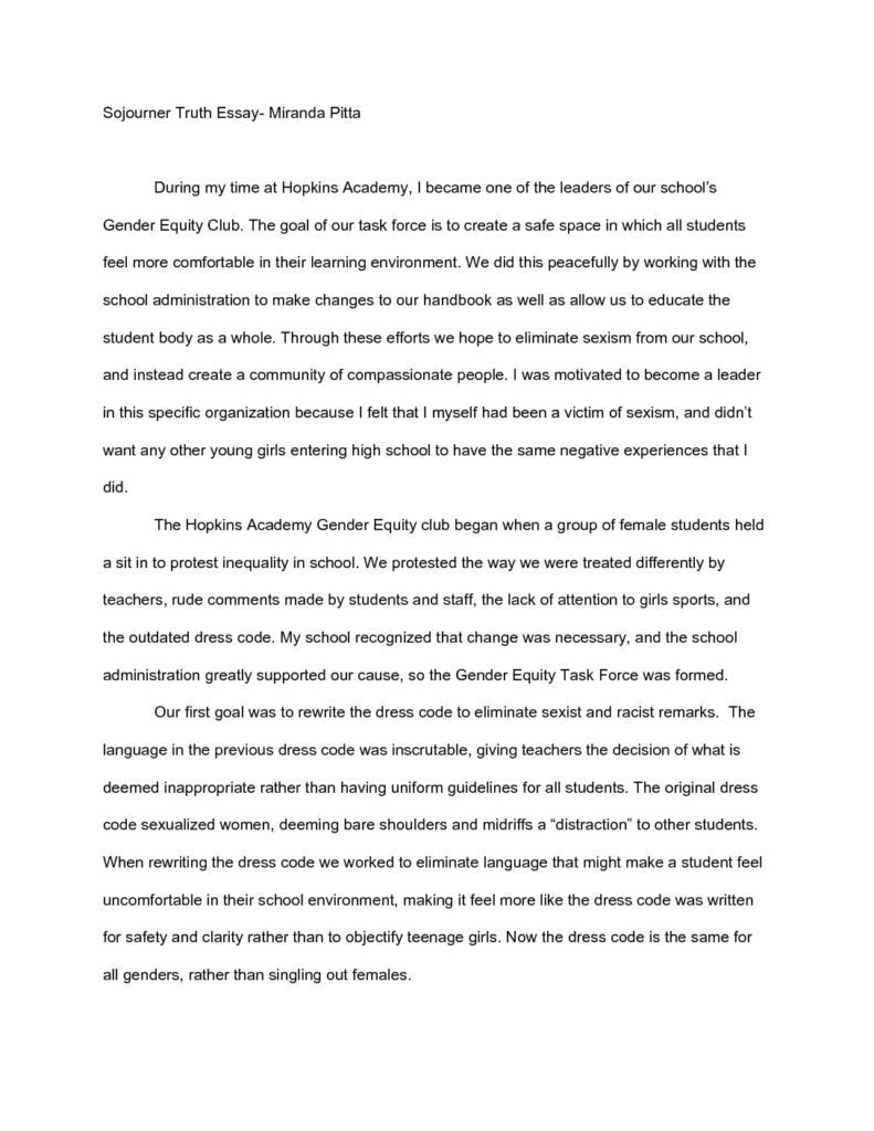 Religion And Science Essay  Sojournertruthessaypdfxjpg  Persuasive Essay Ideas For High School also English Example Essay Index Of Wpcontentuploads Essay Proposal Format